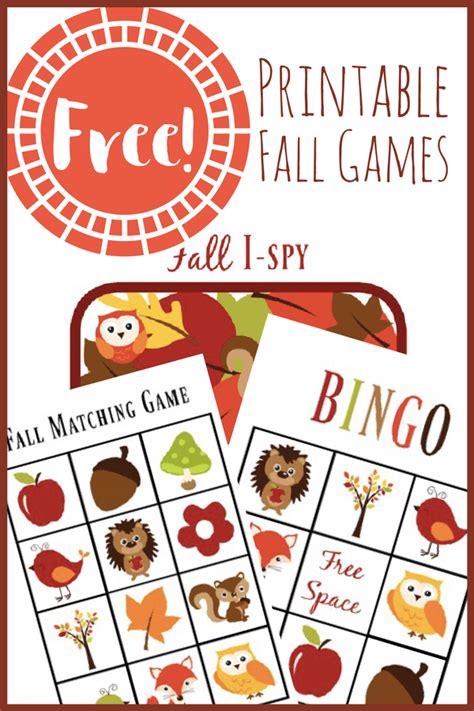 printable fall games  toddlers views   step stool
