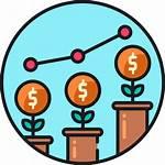 Growth Icon Economy Icons Svg