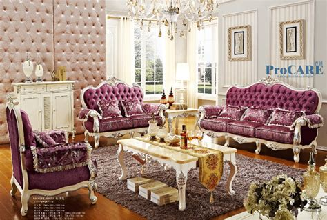 purple living room set aliexpress buy luxury italian oak solid wood purple