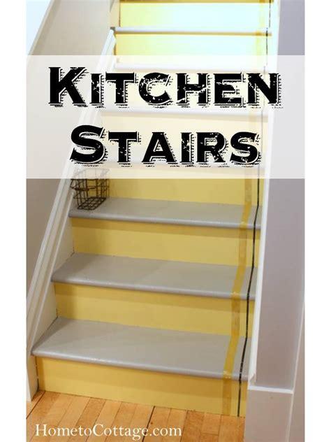 kitchen title kitchen stairs