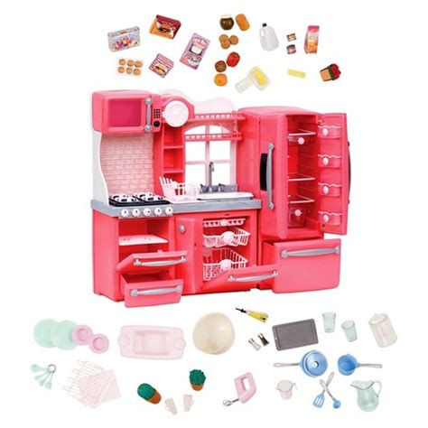 Our Generation® Gourmet Kitchen Accessory Set  Pink  Target