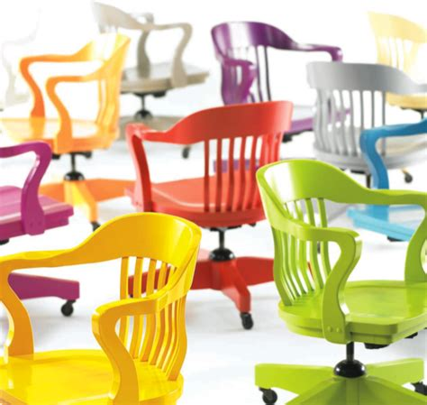 colorful desk chairs colorful office chairs sayeh pezeshki la brand logo