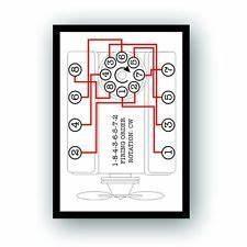 283 Chevy Engine Wiring Diagram : firing order decal chevrolet small block chevy 267 283 327 ~ A.2002-acura-tl-radio.info Haus und Dekorationen