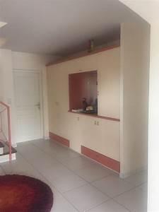 decoration renovation d39une entree a toulouse 31 plafond With porte d entrée alu avec plafond tendu salle de bain