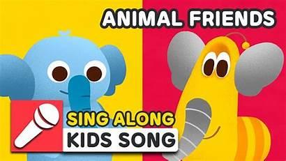 Larva Animal Friends Rhyme Nursery Sing Learn