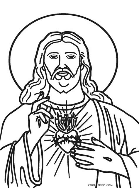 free printable jesus coloring pages for cool2bkids