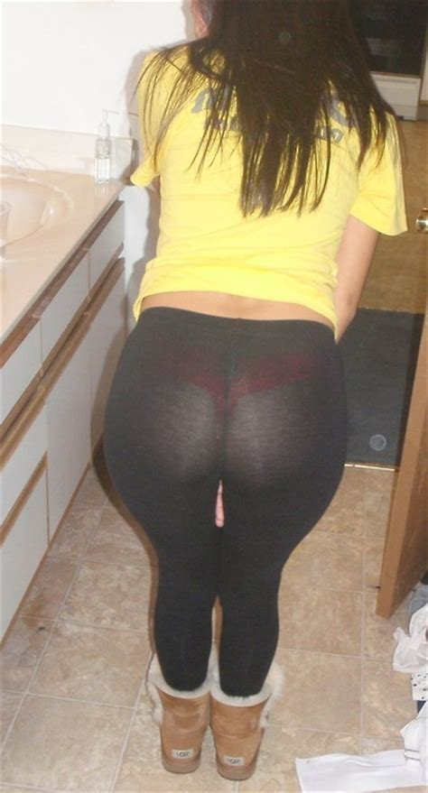 Teen Big Ass Yoga Pants