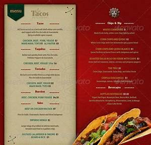 restaurant menu template With templates for restaurant menus