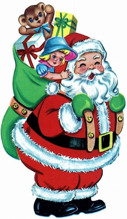 Christmas Santa Toys Thegraphicsfairy Clip Claus Printable