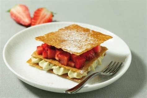 recette de mille feuille de p 226 te filo 224 la pistache fraises fra 238 ches facile