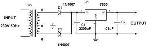 Power Supply Using Voltage Regulator With Design