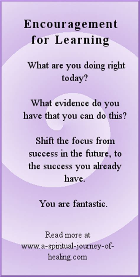 encouragement poems   success    learning