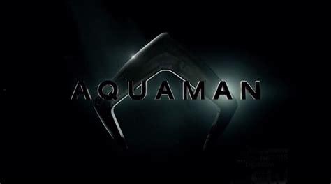 les logos des films aquaman  flash  cyborg devoiles