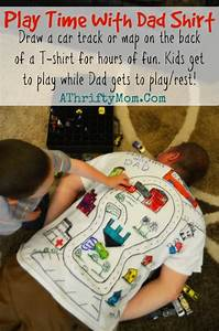 Play Time With Dad Shirt ~ Quick and easy playtime idea # ...