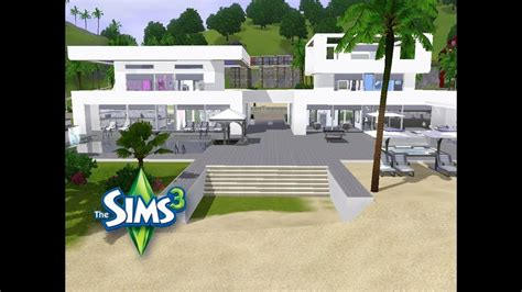 Modernes Haus Let S Build by Sims 3 Haus Bauen Let S Build Modernes Doppelhaus Am