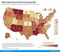 Which States Rely the Most on Federal Aid? | Tax Foundation