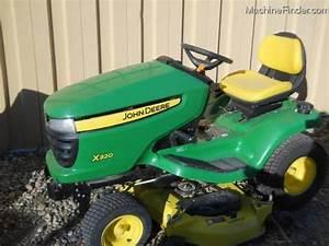 2011 John Deere X320 Lawn Mower W  48 U0026quot  Deck Lawn  U0026 Garden