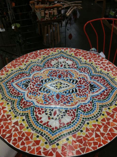 mosaic table tiles crafts