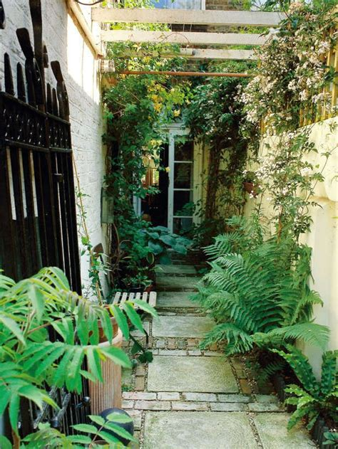 25 best ideas about narrow garden on small