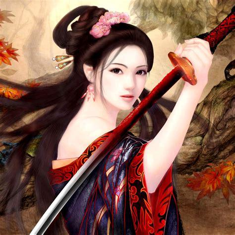 Asian Female Warrior Wallpaper On Wallpapersafari