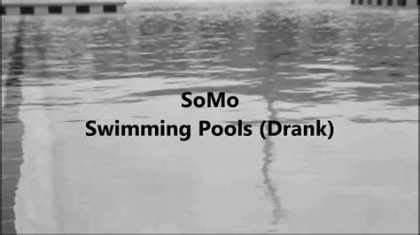 Swimming Pools (drank) (rendition) By