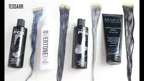 Comparing Silver Hair Dyes!