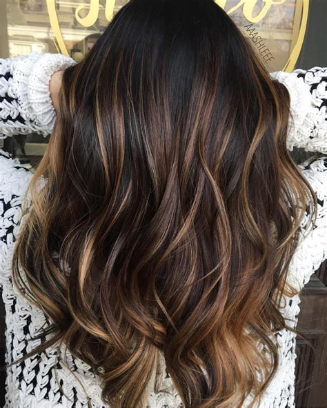 Hair Highlights by 21 Balayage Brown Hair Color Ideas For Changing Up