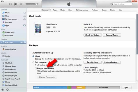 how to encrypt iphone how to remove encryption from an itunes ios backup