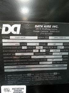 Data Aire Cooling Unit