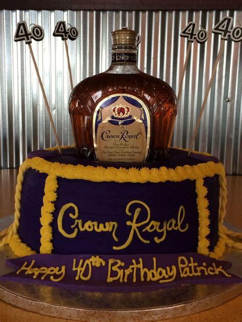 crown royal cake ideas  pinterest crown royal