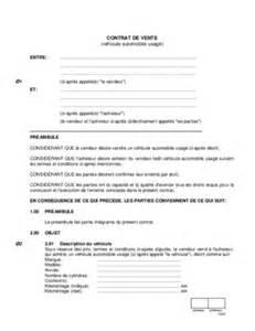 Vente Meuble Occasion Entre Particulier by Contrat Depot Vente Automobile Pdf Notice Manuel D