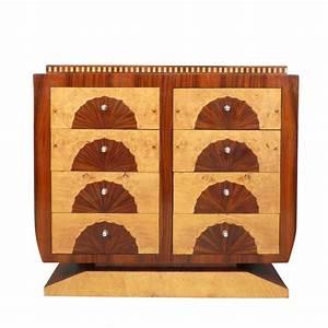 commode art deco meubles art deco de rangement style 1930 With meuble art deco