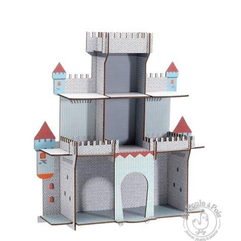 deco chambre chevalier etagère en bois la citadelle du chevalier djeco