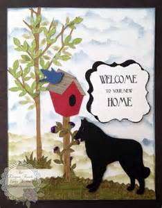 Welcome to Your New Home Card