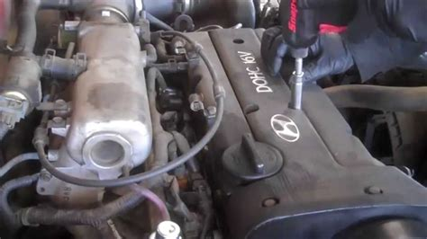2007 Yari Engine Diagram by Valve Cover Replacement Hyundai Elantra 2000 2 0l 4