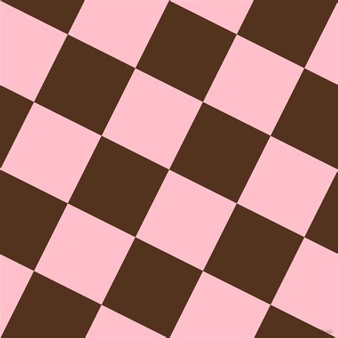 Pink And Brown Bramble Checkers Chequered Checkered