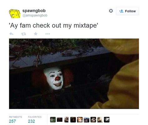 Checking Out Meme - check out my mixtape