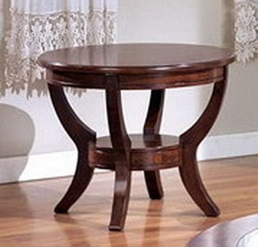 cheap round end tables cyber monday coty round end table in brown finish by crown