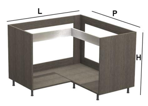 Mobili Base Per Cucina by Base Angolo Kitchen Silver Per Cucine Moderne Su Misura