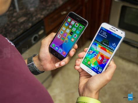 iphone 6 quality apple iphone 6 vs samsung galaxy s5 call quality