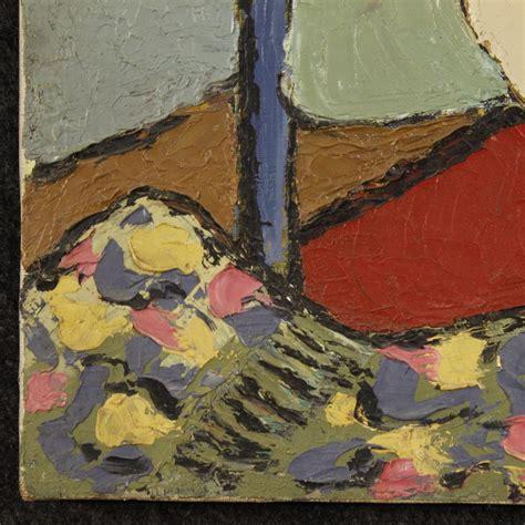 dipinto impressionista nudo di donna olio su tela