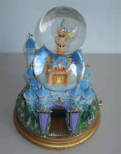 Disney Castle Snow Globe Music Box