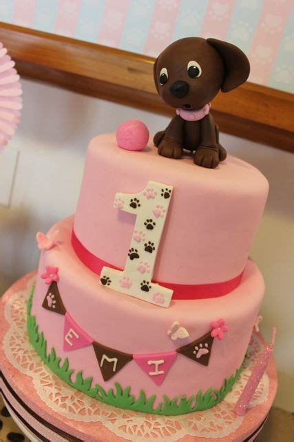 puppies dogs birthday party ideas gorgeous cakes