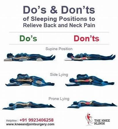 Position Healthy Worst Sleep Sleeping Neck Pain