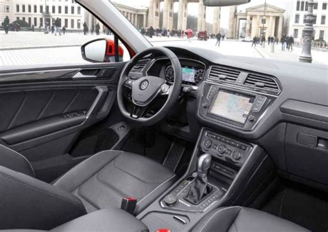 volkswagen tiguan 2018 interior 2018 volkswagen tiguan us release date interior specs