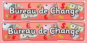 Bureau De Change Display Banner Travel Agent Holiday