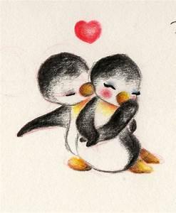 Penguin Love by ~Bambi-28 on deviantART | Love stuff ...