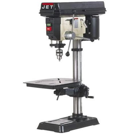 jet    speed woodworking bench top drill press