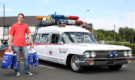 What Is The Ghostbusters Car by Who You Gonna Call Fan Has His Own Ghostbusters Car