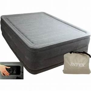 Lit D Appoint Gonflable : lit gonflable 2 personnes comfort plush high intex achat ~ Melissatoandfro.com Idées de Décoration